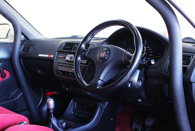 EK9 CIVIC TYPE R INTERIOR