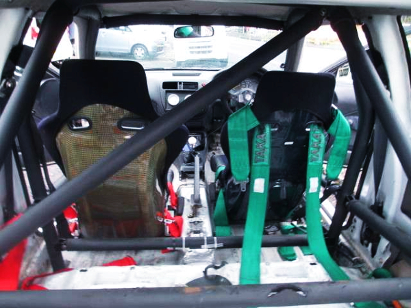 ROLL BAR AND FULL BUCKET TWO-SEATER