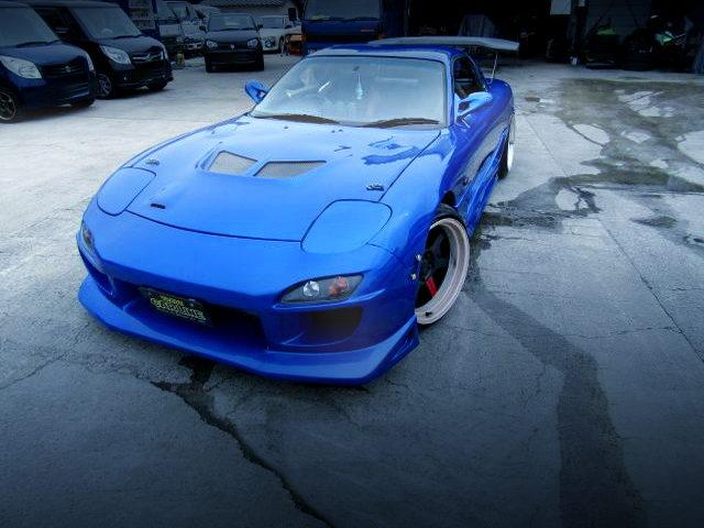 FRONT EXTERIOR FD3S RX-7 BLUE METALLIC