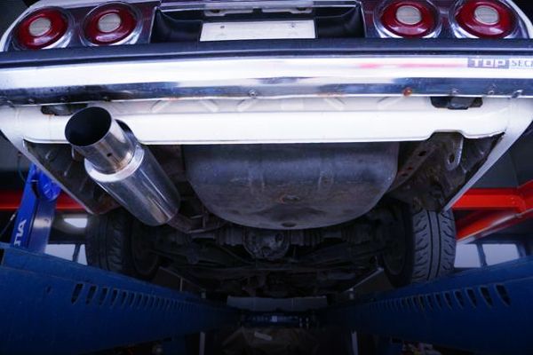 STAINLESS EXHAUST MUFFLER