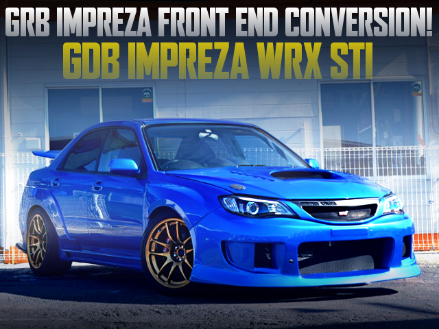 GRB FRONT END TO GDB WRX STI