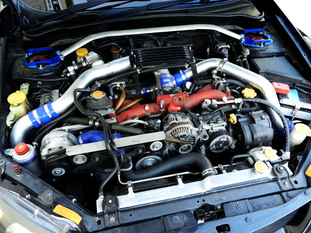 TWINCHARGED EJ207 BOXER ENGINE