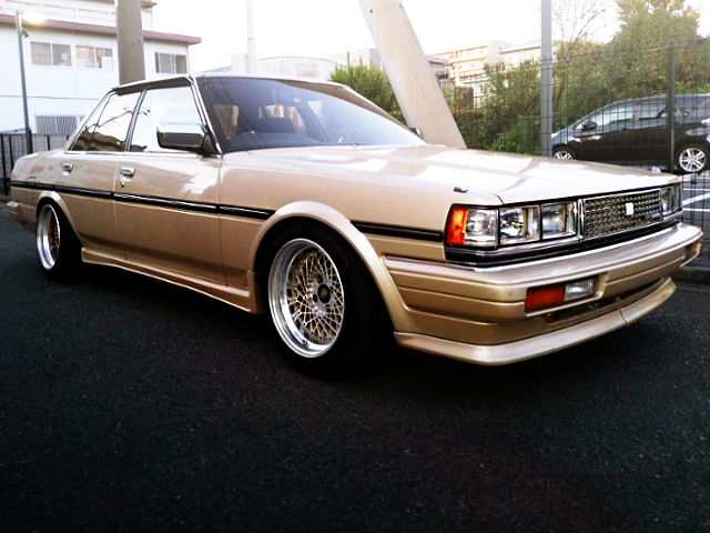 FRONT EXTERIOR GX71 CRESTA TO GOLD BROWN