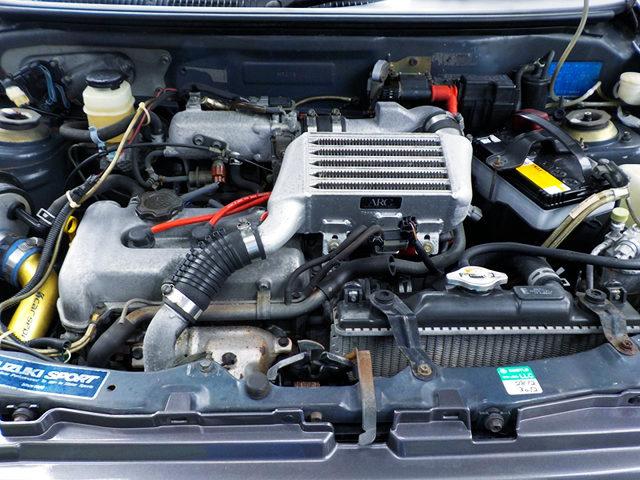 ARC INTERCOOLER ON K6A TWINCAM TURBO ENGINE