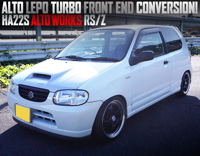ALTO LEPO TURBO FRONT END TO HA22S ALTO WORKS RS/Z