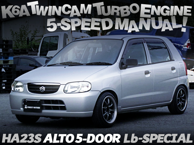 K6A TWINCAM TURBO AND 5MT INTO A HA23S ALTO 5-DOOR Lb SPECIAL