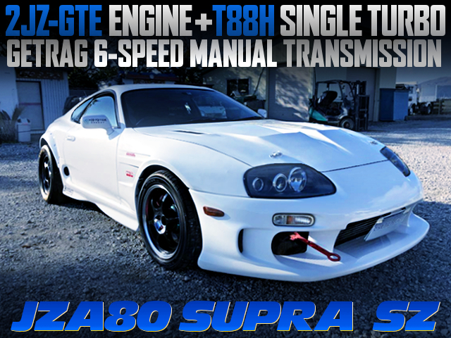 2JZ-GTE T88H SINGLE TURBO INTO A JZA80 SUPRA SZ