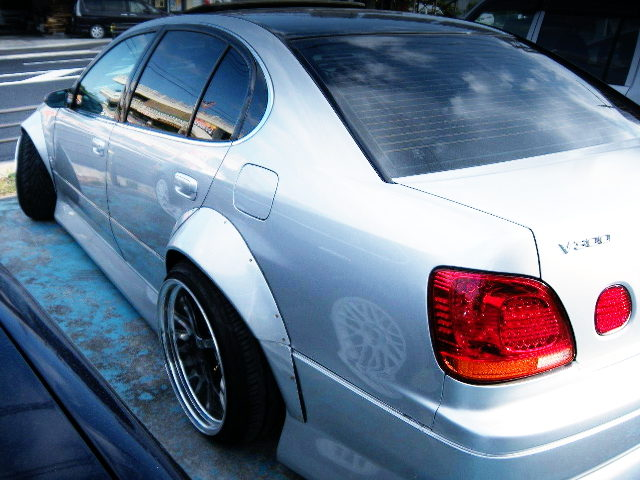 REAR WIDE ARCH FOR JZS161 ARISTO