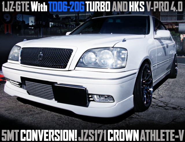 TD06-20G 5MT VPRO With JZS171 CROWN ATHLETE-V