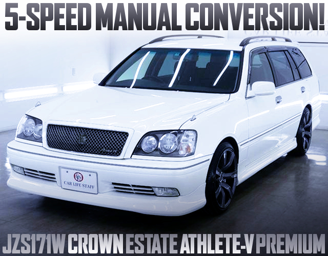 5MT CONVERSION TO JZS171W CROWN ESTATE ATHLETE-V PREMIUM
