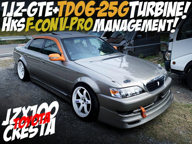 1JZ-GTE With TD06-25G TURBO and F-CON V-PRO OF JZX100 CRESTA