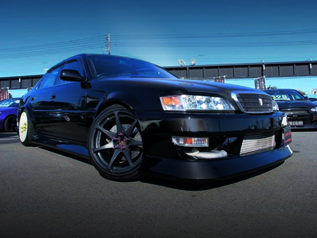 FRONT EXTERIOR JZX100 CRESTA ROULANT G TO BLACK COLOR