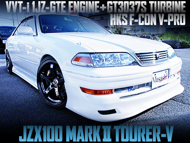 GT3037 TURBO AND F-CON V-PRO INTO A JZX100 MARK2 TOURER-V