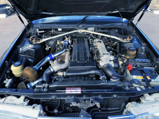 1JZ-GTE 2500cc TWIN TURBO ENGINE
