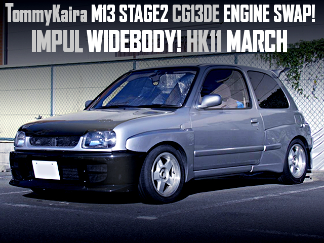 TOMMYKAIRA STAGE2 CG13 SWAPPED TO HK11 MARCH WITH IMPUL WIDEBODY