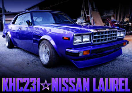 KAIDO RACER MODIFIED TO KHC231 LAUREL TO PURPLE