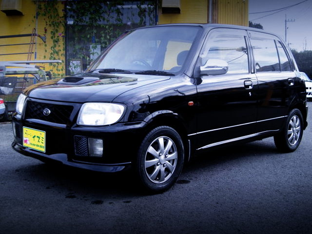 FRONT EXTERIOR L710S MIRA CR 4WD TO BLACK