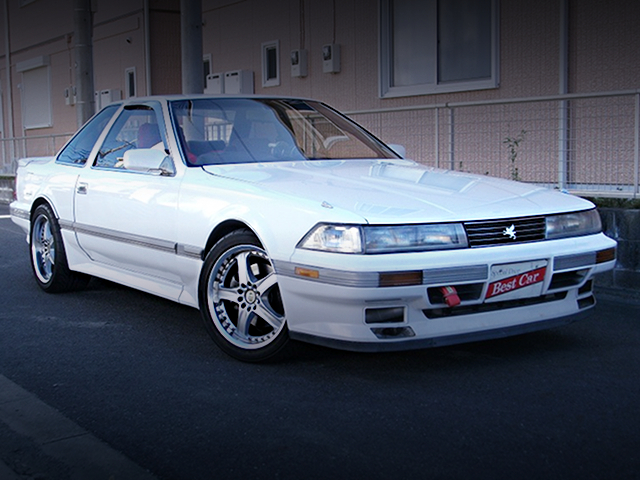 FRONT EXTERIOR MZ20 SOARER TO WHITE COLOR