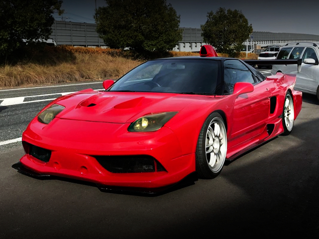 FRONT EXTERIOR NA1 HONDA NSX TO WIDEBODY AND RED