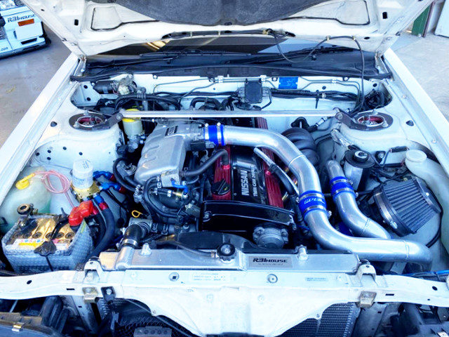 RB20DET TURBO ENGINE