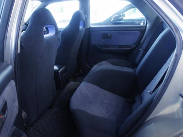 INTERIOR SEATS OF R33 SKYLINE 4DOOR GTR AUTECH 40TH SILVER