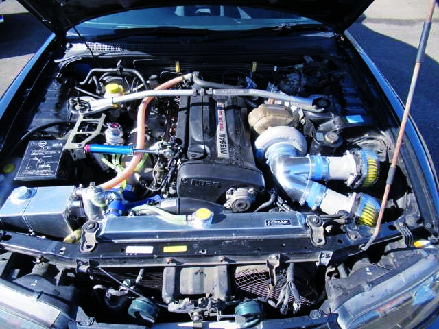 SINGLE TURBOCHARGED RB26