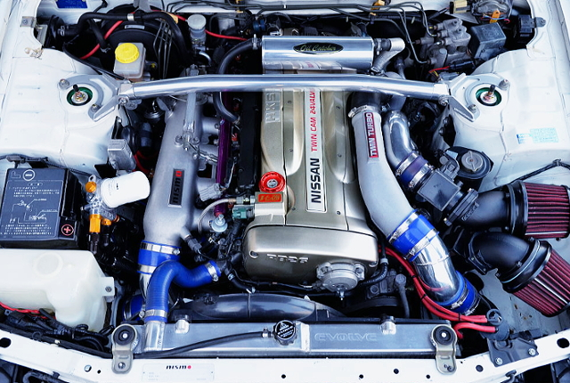 RB26DETT ENGINE With HKS GT3-SS TWINTURBO