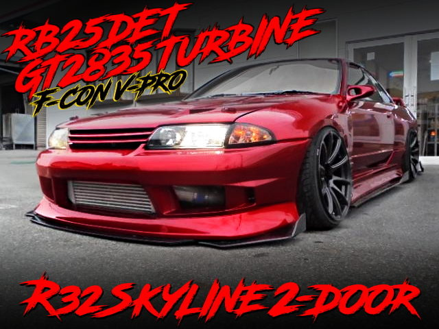 RB25DET With GT2835 TURBO and F-CON V-PRO OF R32 SKYLINE 2-DOOR