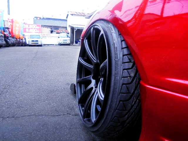 FRONT CAMBER SETTING