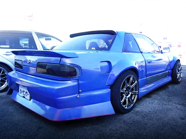 REAR EXTERIOR S13 SILVIA TO WIDEBODY