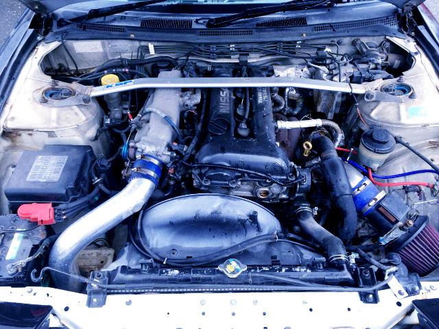BLACK TOP SR20DET ENGINE OF S14 MOTOR