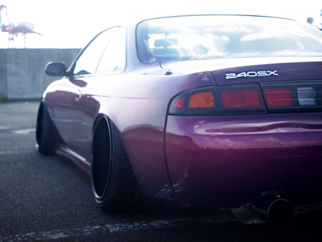 REAR FENDER AND 240SX EMBLEM
