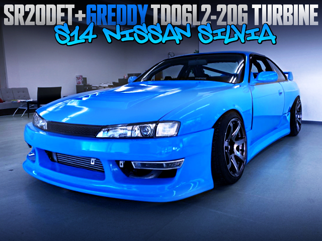 SR20DET TD06L2-20G TURBO WITH S14 SILVIA TO KOUKI AND WIDEBODY