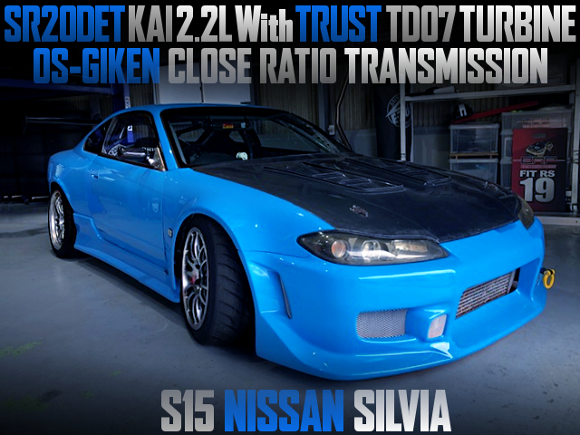 SR20DET 2200cc With TD07 TURBO INTO A S15 SILVIA WIDEBODY