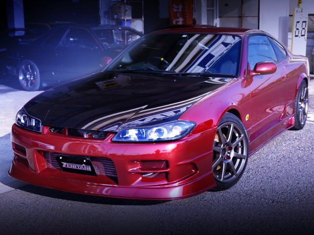FRONT EXTERIOR OF S15 SILVIA SPEC-S