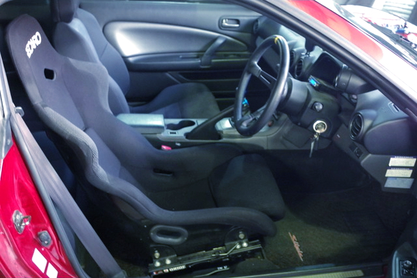 DRIVER TO FULL BUCKET SEAT INSTALLED