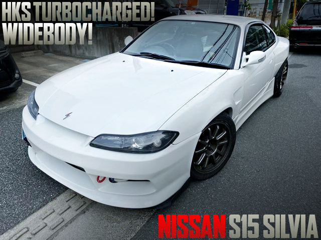 HKS TURBOCHARGED S15 SILVIA WIDEBODY