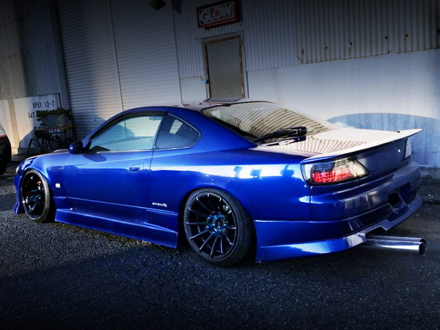 REAR EXTERIOR S15 SILVIA SPEC-S V-PACKAGE BLUE METALLIC