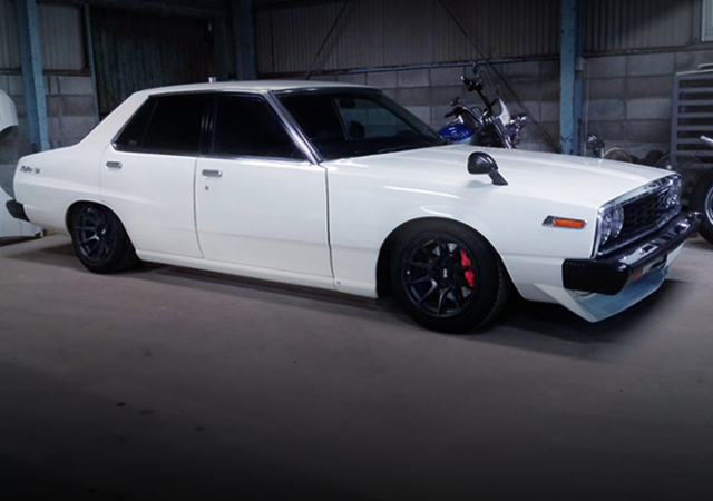 RIGHT sIDE EXTERIOR OF HGC210 SKYLINE JAPAN