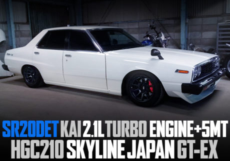 SR20DET 2100cc TURBO SWAPPED HGC210 SKYLINE JAPAN 4-DOOR GTEX TO WHITE