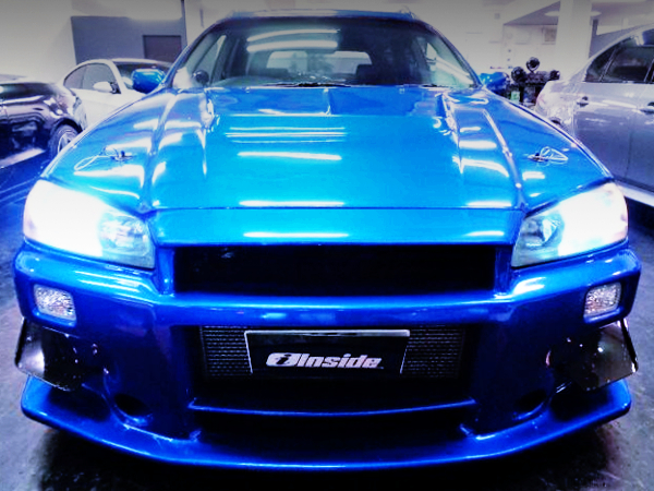 R34 GT-R FRONT FACE