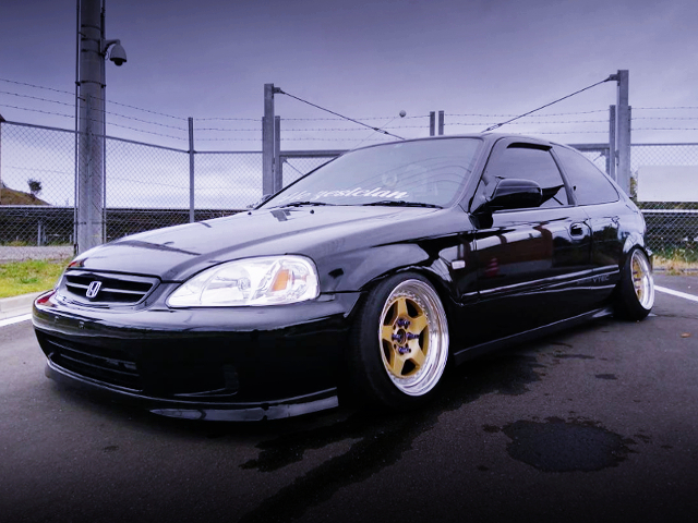 FRONT EXTERIOR EK4 CIVIC SiR TO BLACK