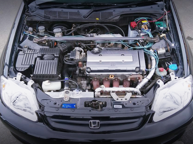 B16A 1600cc VTEC ENGINE OF EK4 CIVIC MOTOR