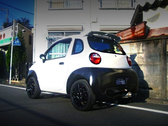 REAR EXTERIOR OF SUZUKI TWIN GASOLINE A