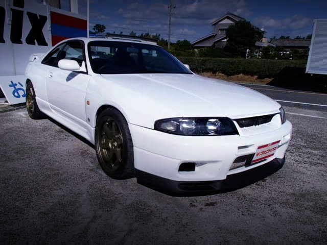 FRONT EXTERIOR R33 GT-R TO WHITE