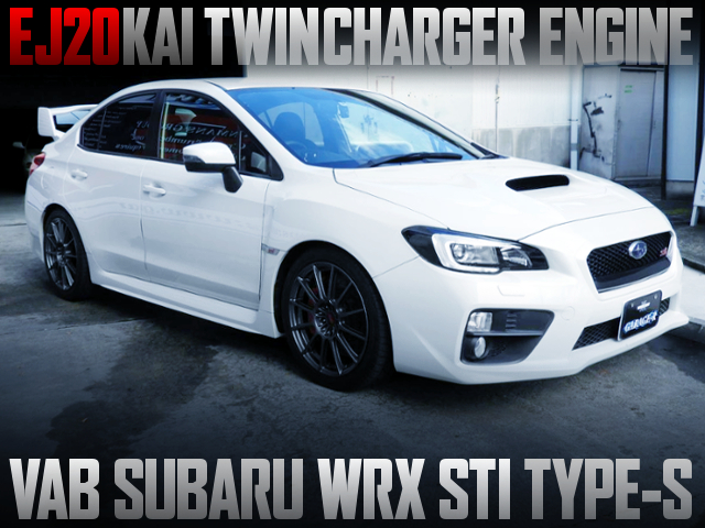 EJ20 TWINCHARGER INTO VAB WRX STI TYPE-S