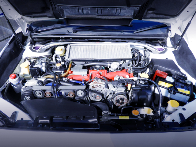 EJ20 TWINCHARGER ENGINE