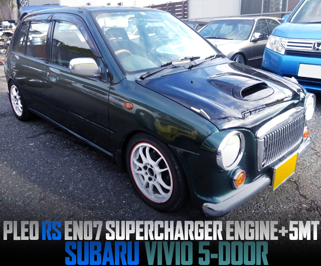 PLEO RS EN07 SUPERCHARGER ENGINE SWAPPED SUBARU VIVIO