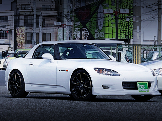 FRONT EXTERIOR AP1 S2000 TO WHITE