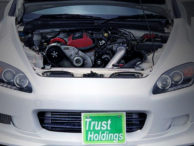 F20C VTEC ENGINE WITH SUPERCHARGER